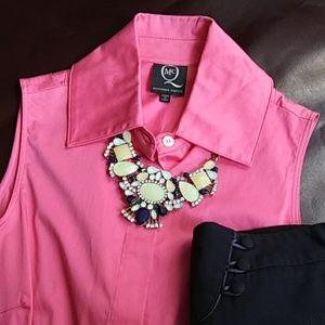 MCQ Alexander McQueen Pink Sleeveless Shirt
